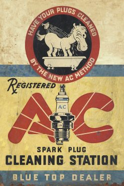 AC Spark Plug Cleaning Station 18x27 1