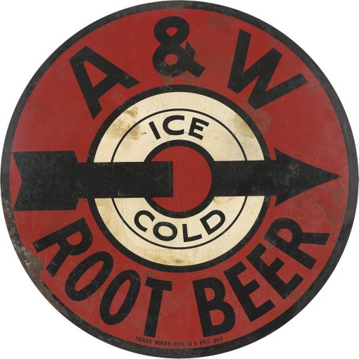 AW Root Beer 30in Dia