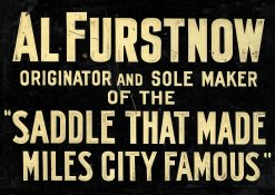 Al Furstnow Saddle Maker 24x17 1