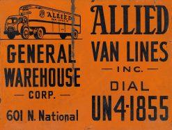 Allied Van Lines 24x18 1