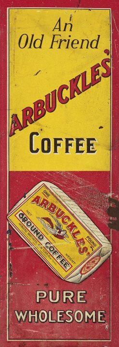 Arbuckles Coffee 11x32 1