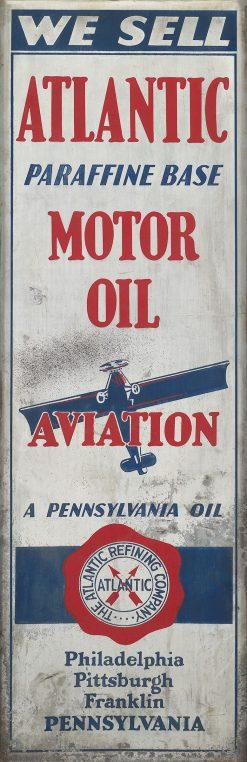 Atlantic Motor Oil Aviation 12x37 1