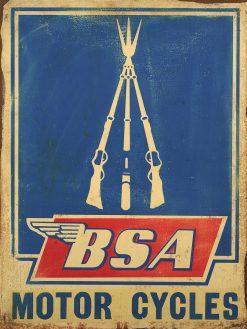 BSA Motor Cycles 21x28 1