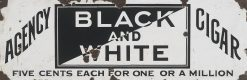 Black and White Agency Cigar 34x11 1