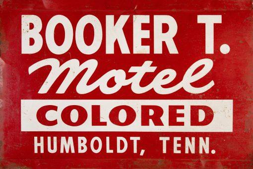 Booker T. Motel 24x16 1