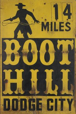 Boot Hill Dodge City 20x30 1