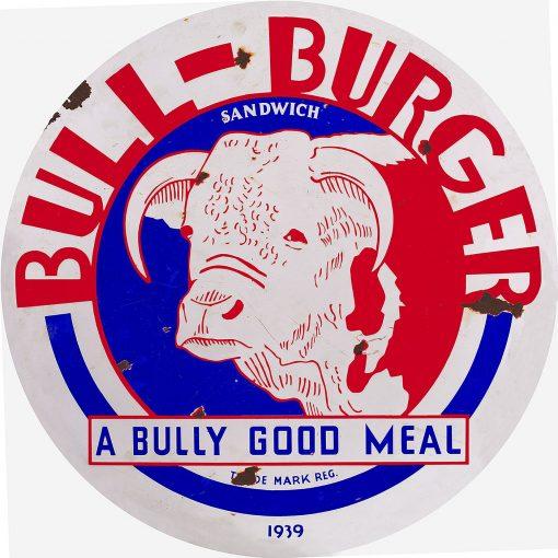 Bull Burger 24inch Dia