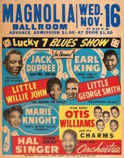 Champion Jack Dupree Little Willie John Magnolia Ballroom