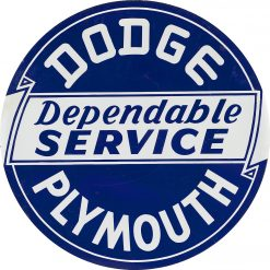 Dodge Plymouth Service 24in Dia
