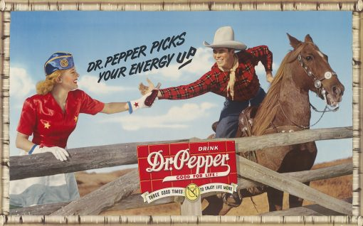 Drink Dr. Pepper Good for Life 29x18 1