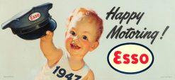 Esso 1947 Happy Motoring 33x15 1