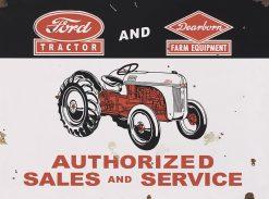 Ford Tractor Dearborn Farm Equip 27x20 1