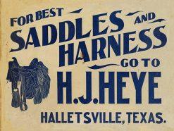 H.J.Heye Saddles 24x18 1