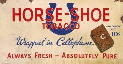 Horse Shoe Tobacco 27x14 1
