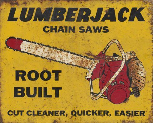 Lumberjack Chain Saws 25x20 1