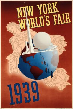 New York Worlds Fair 1939 Poster 20x30 1