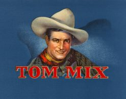 TOM MIX CIGAR BOX ART PRINT