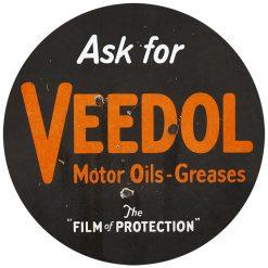 VEEDOL Motor Oils Greases 30inch Dia